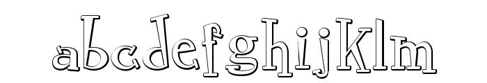 RocknRollTypobevel Font LOWERCASE