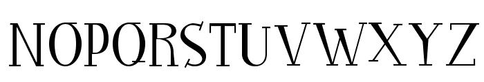 RocknRollTypothin Font UPPERCASE