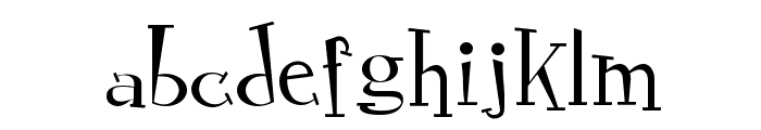 RocknRollTypothin Font LOWERCASE