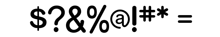 RockoFLF Font OTHER CHARS