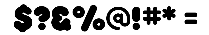RockoUltraFLF-Bold Font OTHER CHARS
