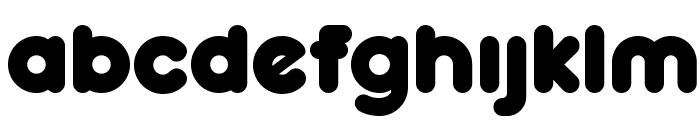 RockoUltraFLF-Bold Font LOWERCASE
