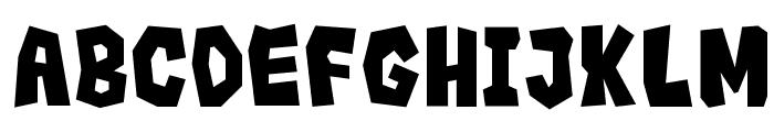 Rocks__G Font UPPERCASE