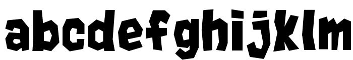 Rocks__G Font LOWERCASE