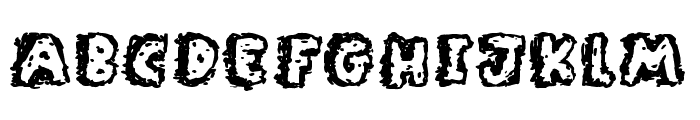 Rocky Bottoms Font LOWERCASE