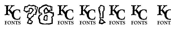 Rocky Shore Font OTHER CHARS