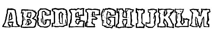 Rocky Shore Font UPPERCASE