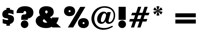 RockyBlimpOpti Font OTHER CHARS
