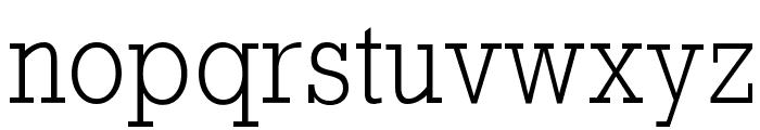 RockyLight Font LOWERCASE