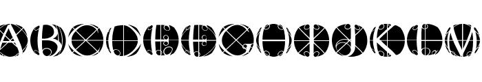 RodauButtonsInverse Font LOWERCASE
