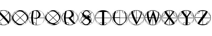 RodauButtons Font LOWERCASE