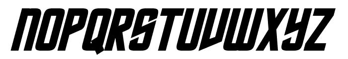 Roddenberry Bold Italic Font UPPERCASE
