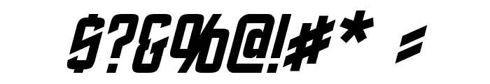 Roddenberry Italic Font OTHER CHARS