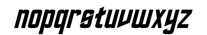 Roddenberry Italic Font LOWERCASE