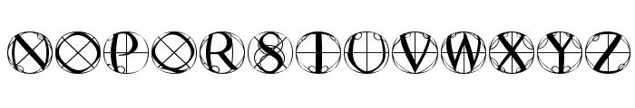 RodgauerFisheyes Font UPPERCASE