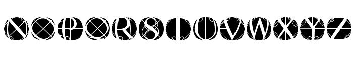 RodgauerFisheyes Font LOWERCASE