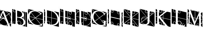 RodgauerThree Font UPPERCASE