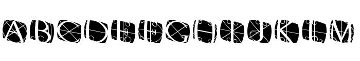 RodgauerThreeRounded Medium Font UPPERCASE