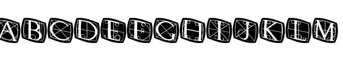 RodgauerThreeRounded Medium Font LOWERCASE
