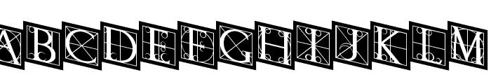 RodgauerThree Font LOWERCASE