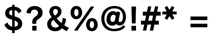 RodinBokutohPro-B Font OTHER CHARS