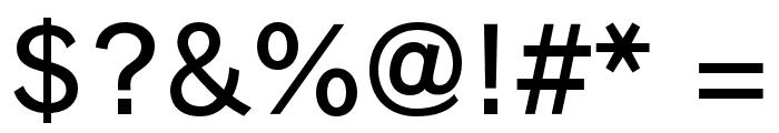 RodinBokutohPro-DB Font OTHER CHARS