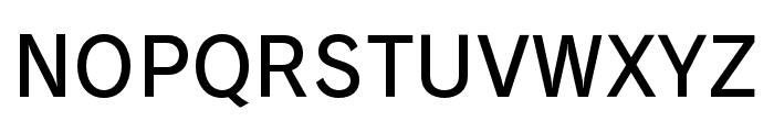 RodinBokutohPro-DB Font UPPERCASE