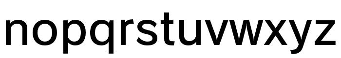 RodinBokutohPro-DB Font LOWERCASE