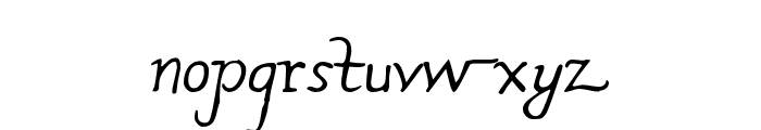 Rodolphe Tryout Font LOWERCASE