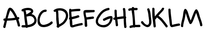 Rodscript Two Font UPPERCASE