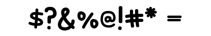 Rodscript Font OTHER CHARS