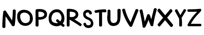 Rodscript Font UPPERCASE