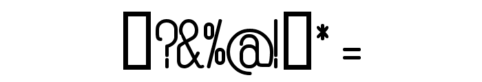Rogaton Bold Font OTHER CHARS