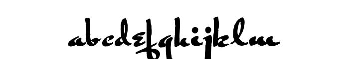 Rogeer Regular Font LOWERCASE