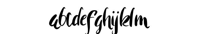 Rohman Font LOWERCASE