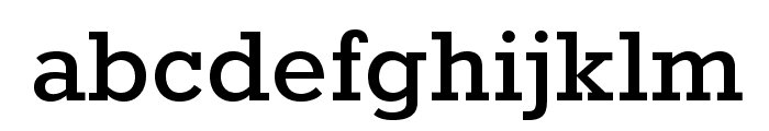 Rokkitt-Bold Font LOWERCASE