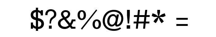 Rokkitt Font OTHER CHARS