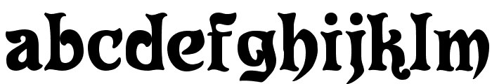 Roland Font LOWERCASE