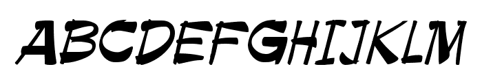 Roller Font LOWERCASE