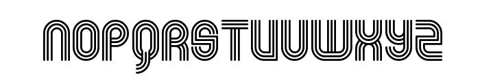 Rolloglide Font UPPERCASE