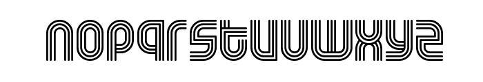 Rolloglide Font LOWERCASE