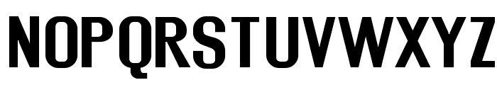 Rollout Bold Font UPPERCASE