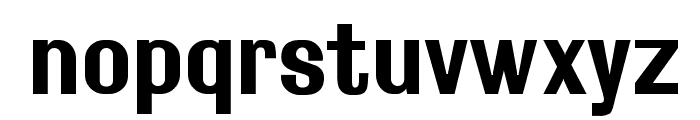 Rollout Bold Font LOWERCASE