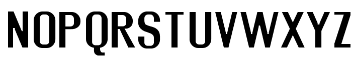Rollout Semibold Font UPPERCASE