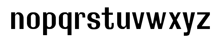 Rollout Semibold Font LOWERCASE