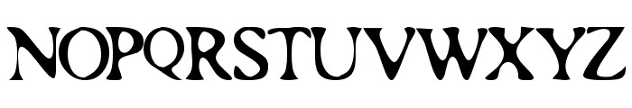 Roman Acid Font UPPERCASE