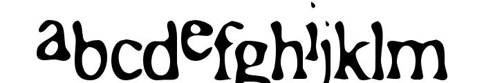 Roman Acid Font LOWERCASE