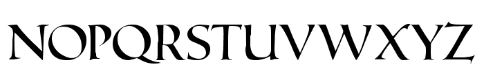 Roman Caps Font UPPERCASE