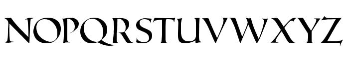 Roman Caps Font LOWERCASE