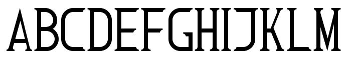 Roman Font 7 Font LOWERCASE
